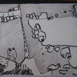 キリンと絶壁